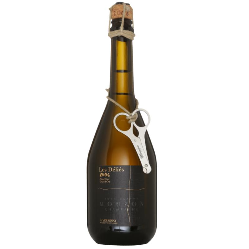 Champagne Jean Claude Mouzon Les Delies Grand Cru 2006 Brut Nature.png