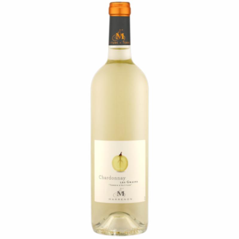 Marrenon Chardonnay Les Grains IGP Mediterranee.png