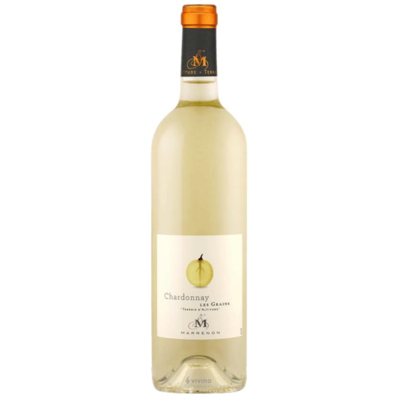 Marrenon Chardonnay Les Grains IGP Mediterranee .png