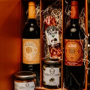 Kinkepakk Chardonnay+Nero d´Avola