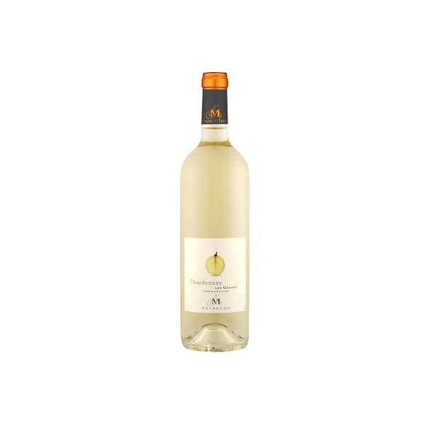 Chardonnay Les Grains IGP Mediterranee, Marrenon 25 cl
