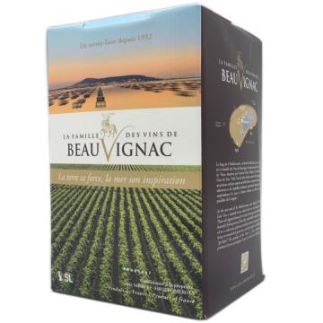 Côtes de Thau IGP Pomerols Beauvignac BIB