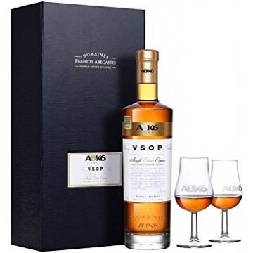 ABK6 Cognac VSOP + 2 klaasi