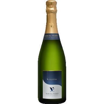 Champagne L´Illustre Brut, Marcel Vezien MAGNUM